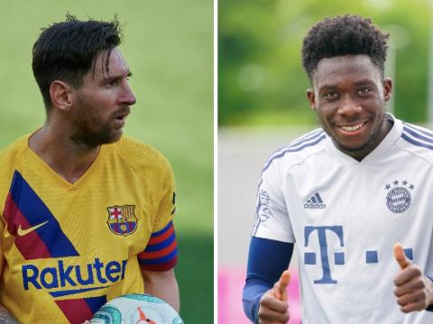 Bayern Munich chief Karl-Heinz Rummenigge sends warning to Lionel Messi ahead of Alphonso Davies duel