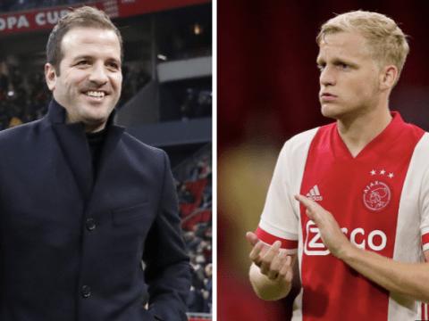 Donny van de Beek 'deserves' transfer move to Manchester United, says Rafael van der Vaart