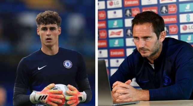 Frank Lampard remains unconvinced about Chelsea goalkeeper Kepa Arrizabalaga