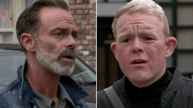 Billy and Craig in Coronation Street