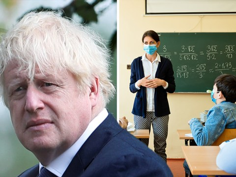 Boris hints at U-turn over face masks in schools as pressure grows