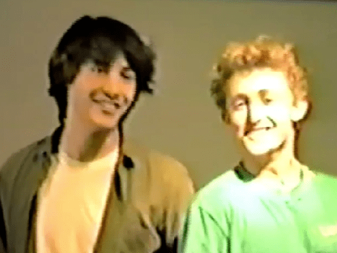 Keanu Reeves steals the show in bodacious 1986 audition for Bill And Ted's Excellent Adventure