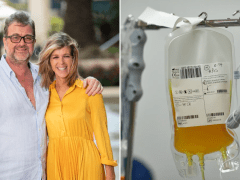 Kate Garraway considered donating blood plasma to help husband's coronavirus fight