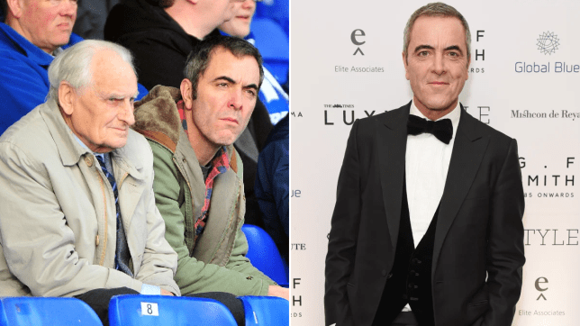 James Nesbitt shared a touching tribute as his dad died