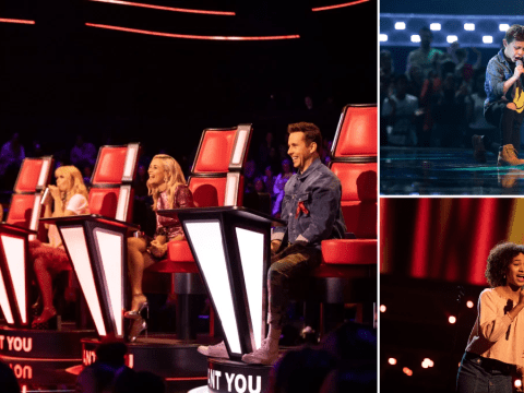 Who is in the semi-final of The Voice Kids and was Kerry Katona's daughter voted off?