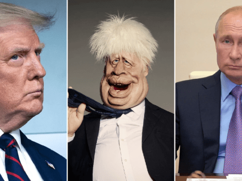 Spitting Image 'forced to reshoot penis fight sketch between Boris Johnson, Vladimir Putin and Donald Trump'