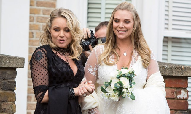Ronnie and Roxy in EastEnders