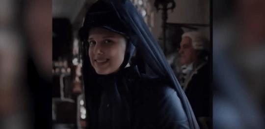 Millie Bobby Brown as Enola Holmes