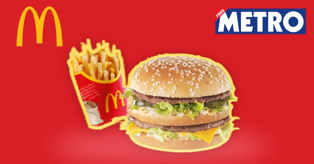 Big Mac and fries Metro voucher and Eat Out to Help Out hack