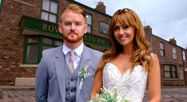 Gary and Maria in Coronation Street