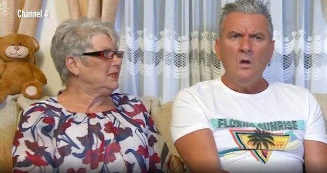 Jenny and Lee from Gogglebox.