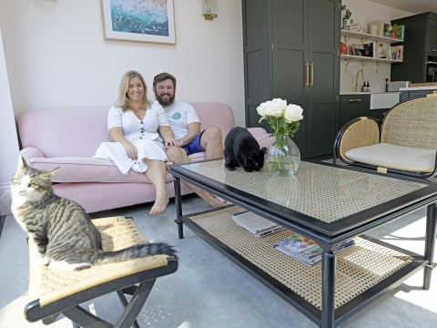 Couple share how they transformed a rundown Victorian house into their dream home