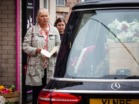 Coronation Street spoilers: Eileen Grimshaw mourns Todd at his funeral in huge death twist