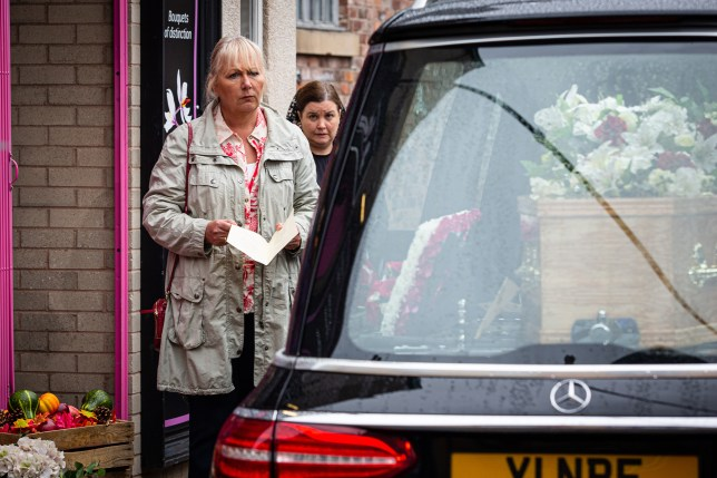 Eileen and Mary in Coronation Street