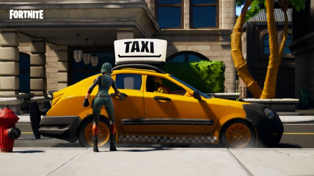 Fortnite Tilted Taxis
