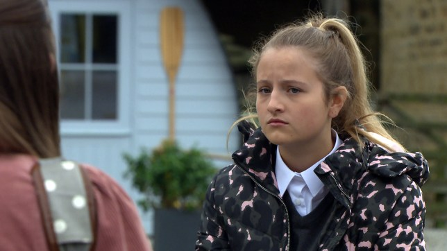 Amelia in Emmerdale