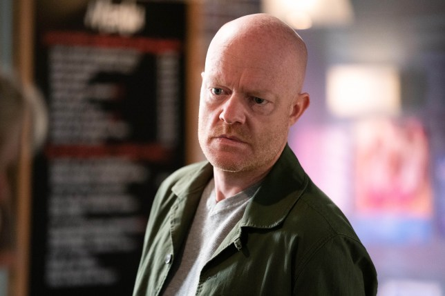 Jake Wood as Max in EastEnders