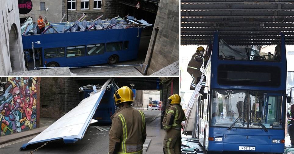 bus crash in Bristol
