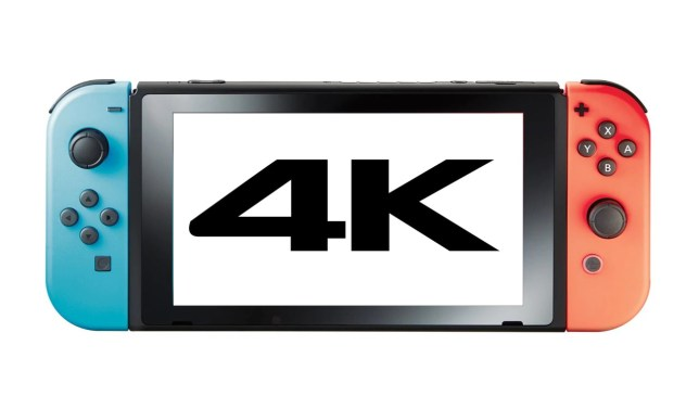 4K Nintendo Switch games are already in development claims report | Metro  News