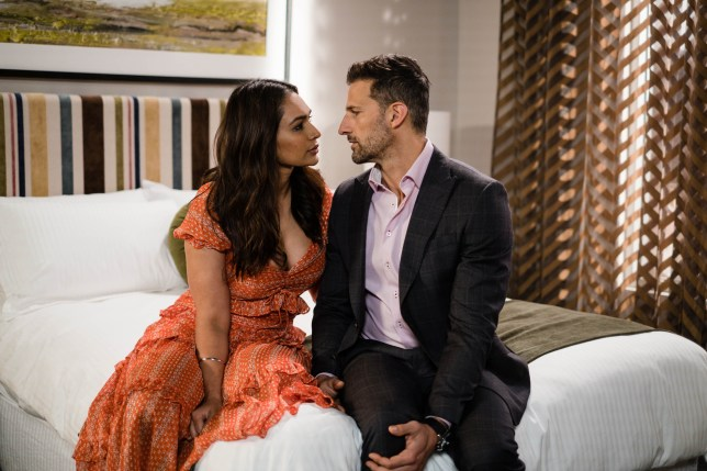 Dipi and Pierce in Neighbours