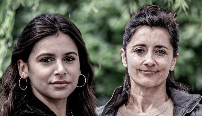 Meena and Manpreet in Emmerdale