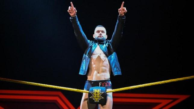 WWE superstar Finn Balor wins the NXT Championship