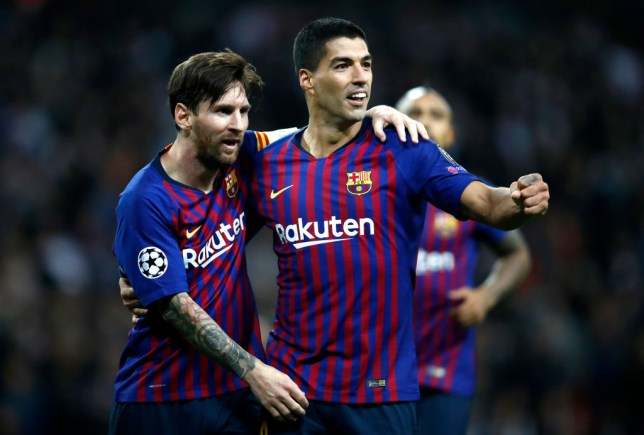 Luis Suarez reveals how Lionel Messi reacted when he said he was leaving Barcelona