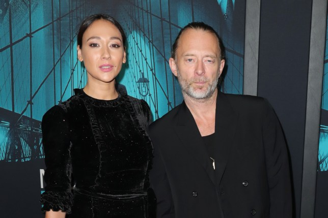 Thom Yorke and Dajana Roncione