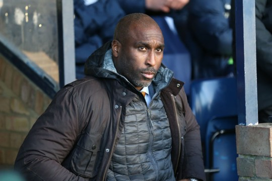 Former Arsenal and England defender Sol Campbell
