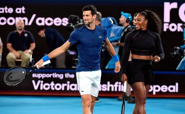 Us Open Serena Williams Coy Over Novak Djokovic Talks After Booking Last 16 Spot Metro News