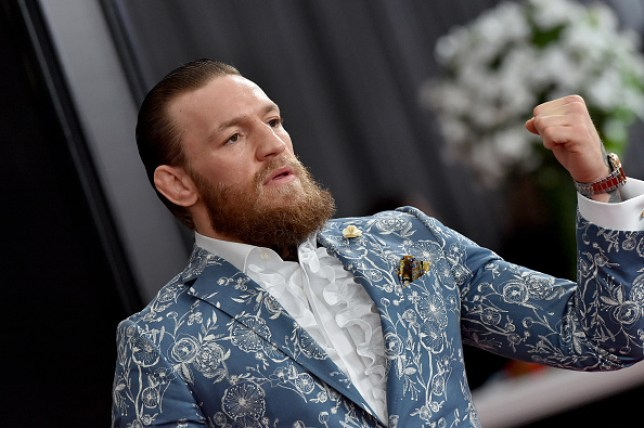 Conor McGregor attends the 62nd Annual GRAMMY Awards at Staples Center on January 26, 2020 in Los Angeles, California.