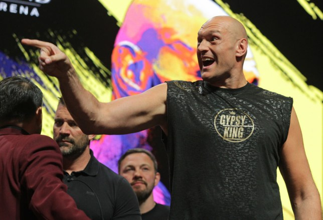 Tyson Fury is among the contenders