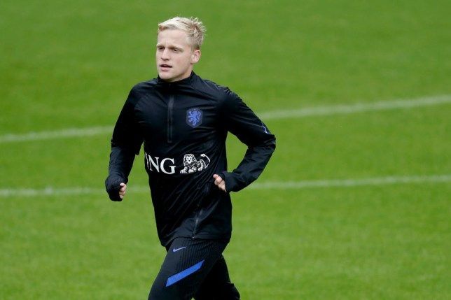 Van de Beek is currently on international duty with the Netherlands