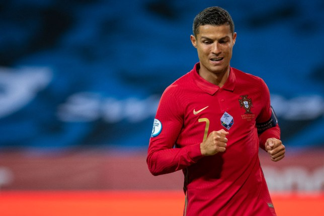 Ronaldo now has an astonishing 102 goals for Portugal
