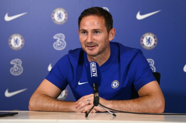 Frank Lampard Chelsea Training Session