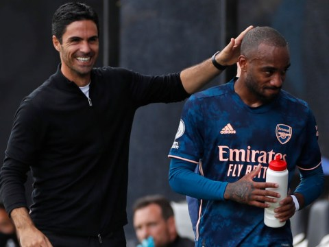 Alexandre Lacazette insists he is happy at Arsenal after victory over Fulham