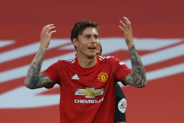 Victor Lindelof was criticised for his performance against Crystal Palace last week