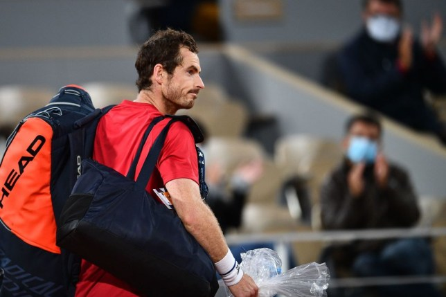 Andy Murray was knocked out of the French Open by Stan Wawrinka