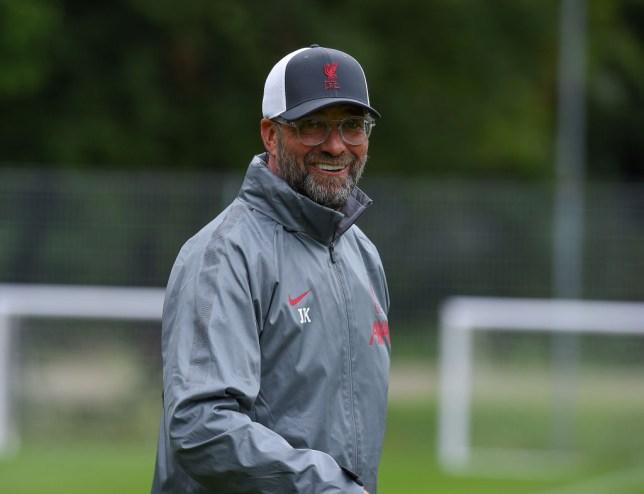 Liverpool Pre-Season Training Session