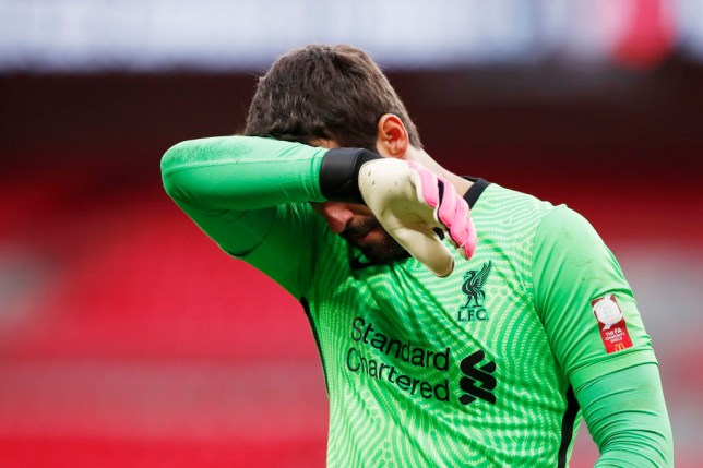 Arsenal have won their last two matches against Alisson's Liverpool side
