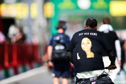Lewis Hamilton says he wanted to 'bring awareness' to Breonna Taylor's death