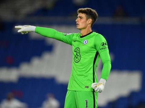 Frank Lampard claims he's 'happy' with Kepa despite imminent move for Edouard Mendy