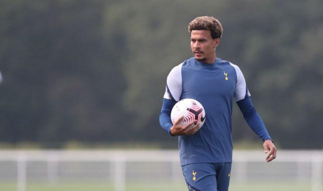 Dele Alli Tottenham Hotspur Training Session