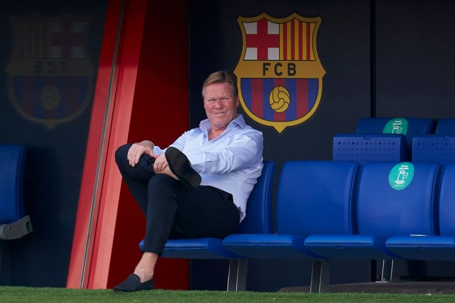 Ronald Koeman blocked from sitting on Barcelona bench until Quique Setien dispute is resolved