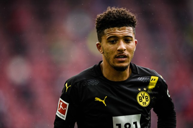 Jadon Sancho has been left out of Borussia Dortmund's squad ahead of the German Super Cup against Bayern Munich
