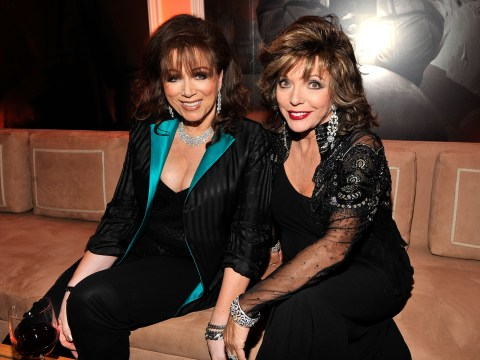 Dame Joan Collins visited by sister Jackie's 'force' five years after death: 'It was really scary'