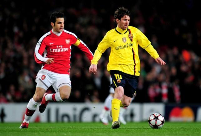 Arsenal v Barcelona - UEFA Champions League