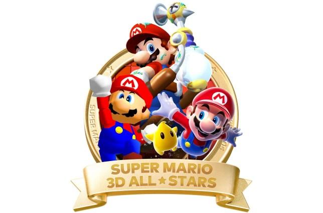 Super Mario 3D All-Stars logo
