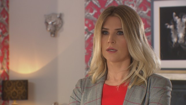 Hollyoaks Mandy played by Sarah Jayne Dunn