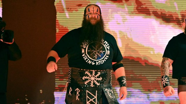 WWE superstar Ivar of the Viking Raiders